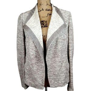 Vince Marled Neutral Open Front Cardigan - N806